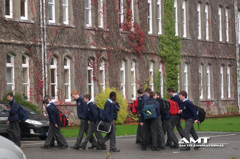 Curso escolar en Irlanda